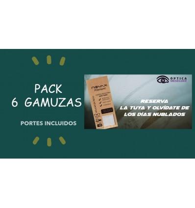 Pack de 6 GAMUZA ANTIVAHO 15 X 18 PREMIUM NOVAX