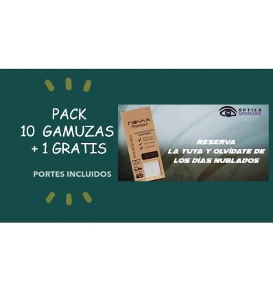 Pack de 10 GAMUZA ANTIVAHO 15 X 18 PREMIUM NOVAX