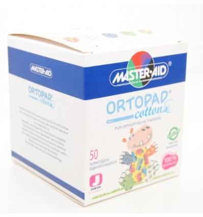 Parches oculares adhesivos Ortopad Boys Junior brillo, envasados en caja de 50 unidades, utilizados en tratamientos de Ortóptica