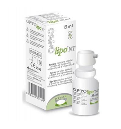 OPTOx Opto-lipo NT es un vaporizador ocular nanotecnológico estéril a base de liposomas que contienen en su interior vitaminas A